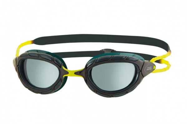 Zoggs - Predator wiro-frame™ schwarz-gelb