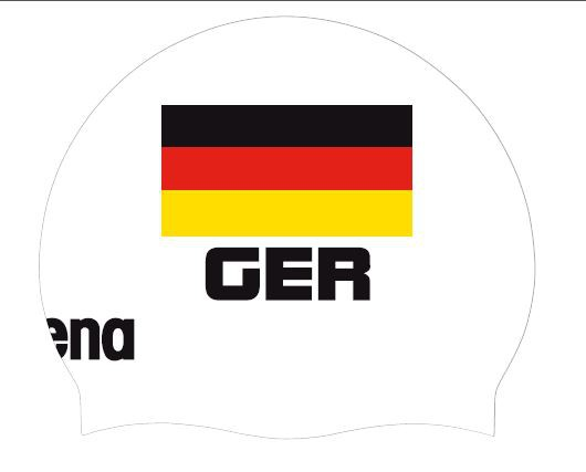 arena Flag Cap Germany white