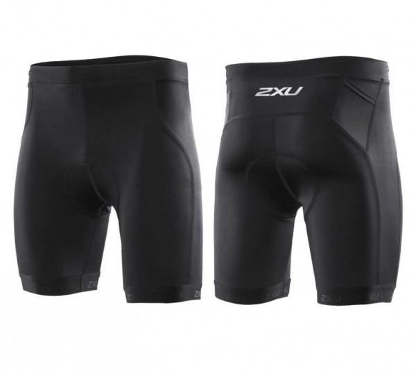 2XU - Men's Active Tri Short black/red