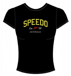 Speedo T-Shirt Damen royalblau