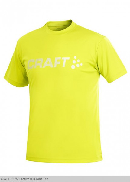 CRAFT Active Run Logo Tee