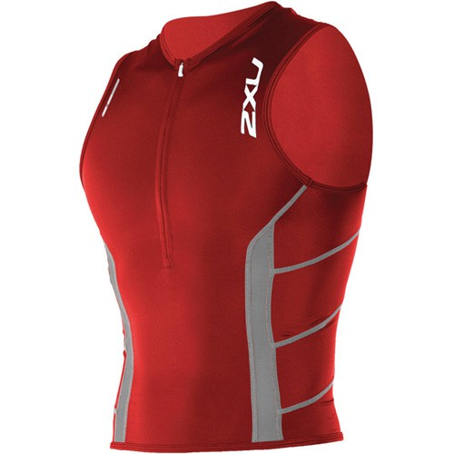 2XU - Comp Tri Singlet Pocket rot