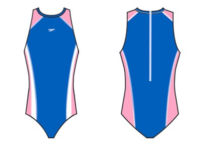 Speedo Badeanzug Girls Go Splice Turbosuit
