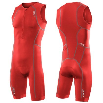 2XU - Men's Active Trisuit/ Herren red
