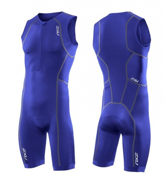 2XU - Men's Active Trisuit/ Herren royalblue